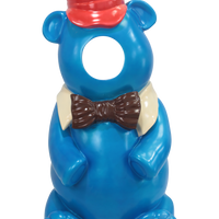 Blue Gummy Bear Photo Op Over Sized Statue - LM Treasures Life Size Statues & Prop Rental