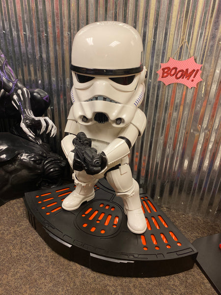 Rare Star Wars Jumbo Egg Attack Stormtrooper Life Size Statue - LM Treasures