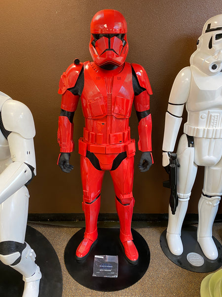 Star Wars The Rise Of Skywalker Sith Trooper Life Size Statue - LM Treasures Life Size Statues & Prop Rental