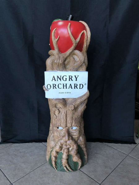 Angry Orchard 4ft Statue - Pre Owned - LM Treasures Life Size Statues & Prop Rental
