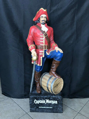 Captain Morgan 4ft Statue - Pre Owned - LM Treasures - Life Size Statue