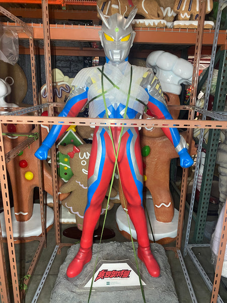 Ultra Man Life Size Statue - LM Treasures Life Size Statues & Prop Rental