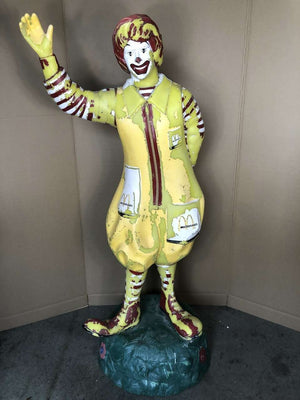 Ronald Mc Donald Life Size Store Statue Display  - Pre Owned- LM Treasures