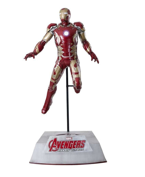 Iron Man (MK43) Life Size Statue from Avengers: Age Of Ultron - LM Treasures