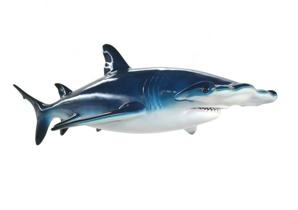 Hammerhead Shark Life Size Statue - LM Treasures Life Size Statues & Prop Rental