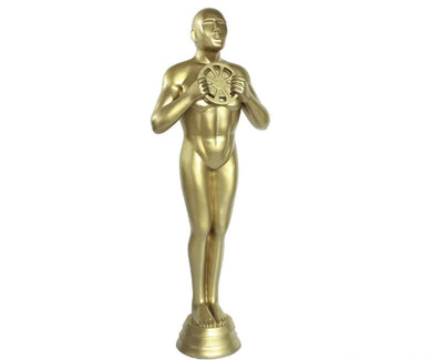 Hollywood Prop Trophy 6ft Gold Movie Decor Resin Statue - LM Treasures Life Size Statues & Prop Rental