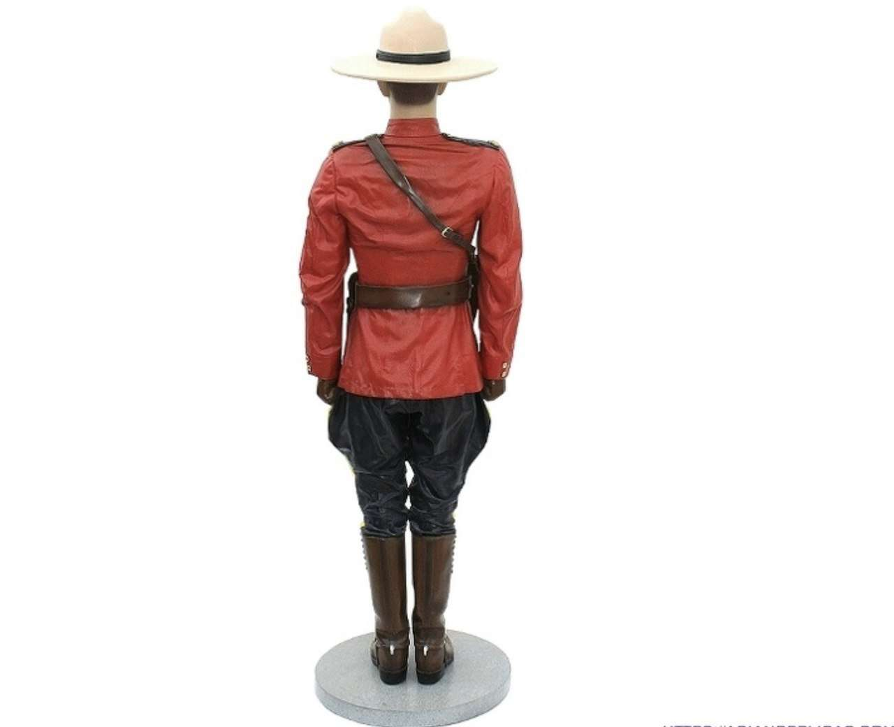 Canadian Policeman Life Size Movie Prop Decor Statue - LM Treasures