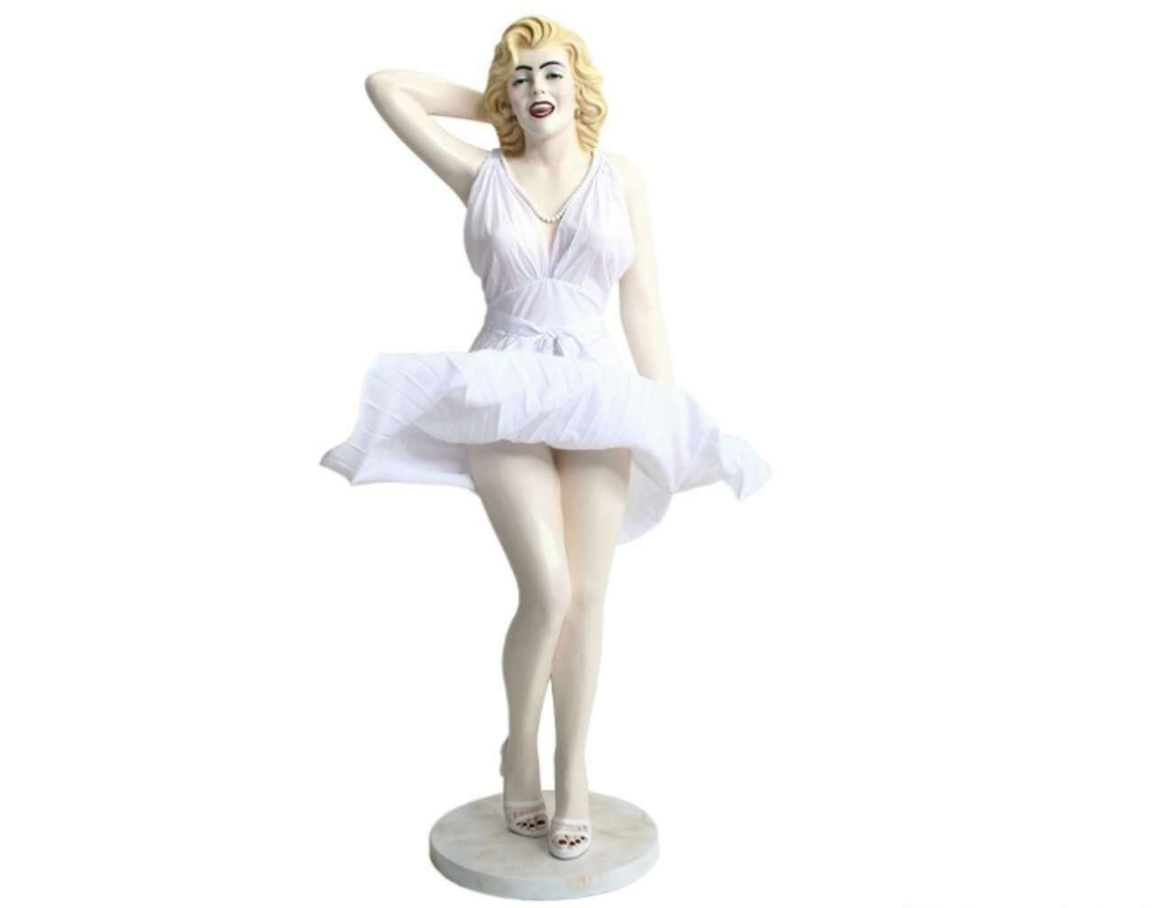 Celebrity Monroe Actress Life Size Movie Hollywood Prop Decor Statue - LM Treasures