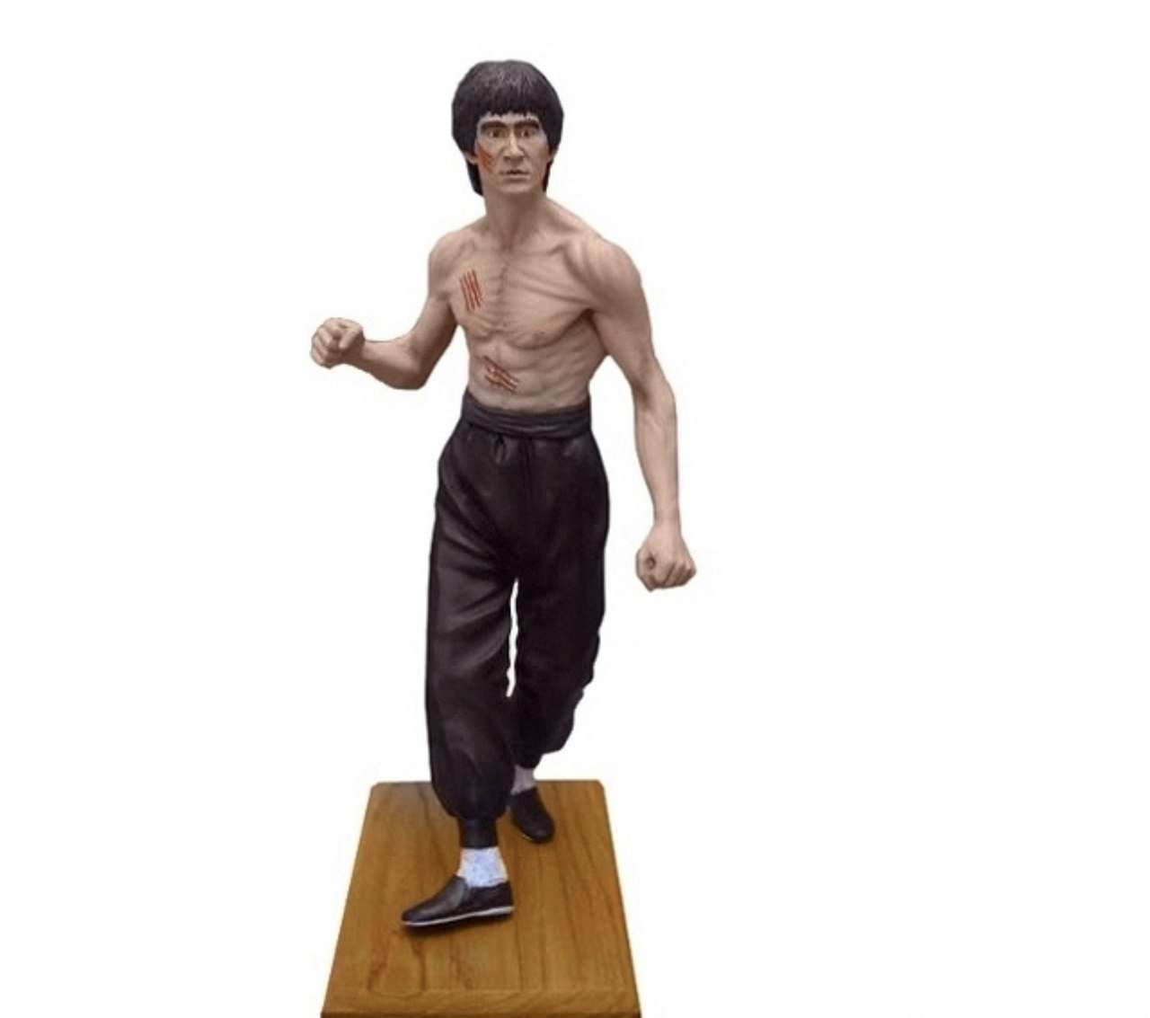 Celebrity Lee Kung Fu Life Size Movie Hollywood Prop Decor Statue - LM Treasures