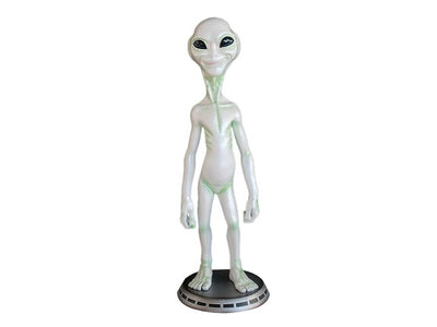 Alien On Base Space Statue Prop Decor Life Size Resin - LM Treasures Life Size Statues & Prop Rental