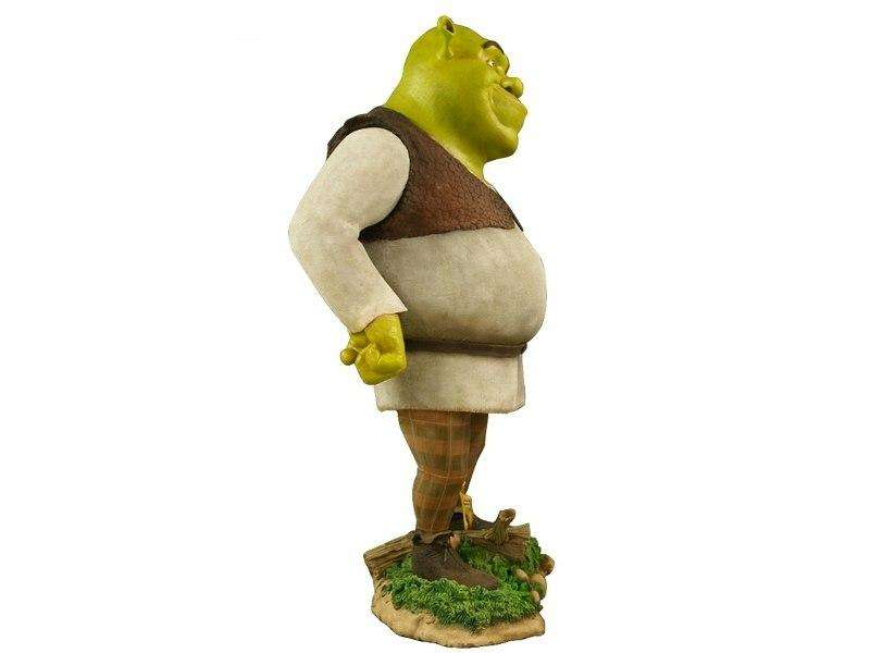 Cartoon Celebrity Ouger Movie Hollywood Prop Decor Statue - LM Treasures