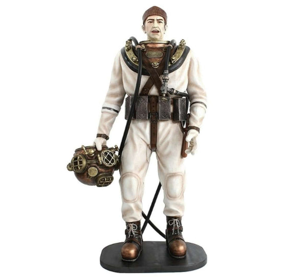 Deep Sea Diver Life Size Movie Prop Decor Statue - LM Treasures Life Size Statues & Prop Rental