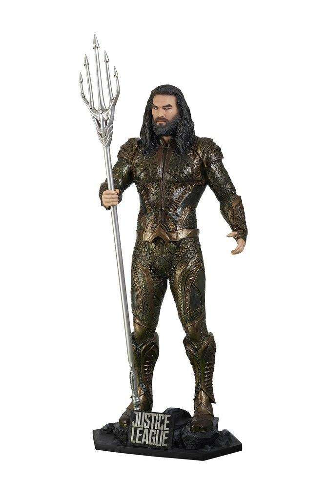 Aquaman From Justice League Life Size Statue - LM Treasures Life Size Statues & Prop Rental