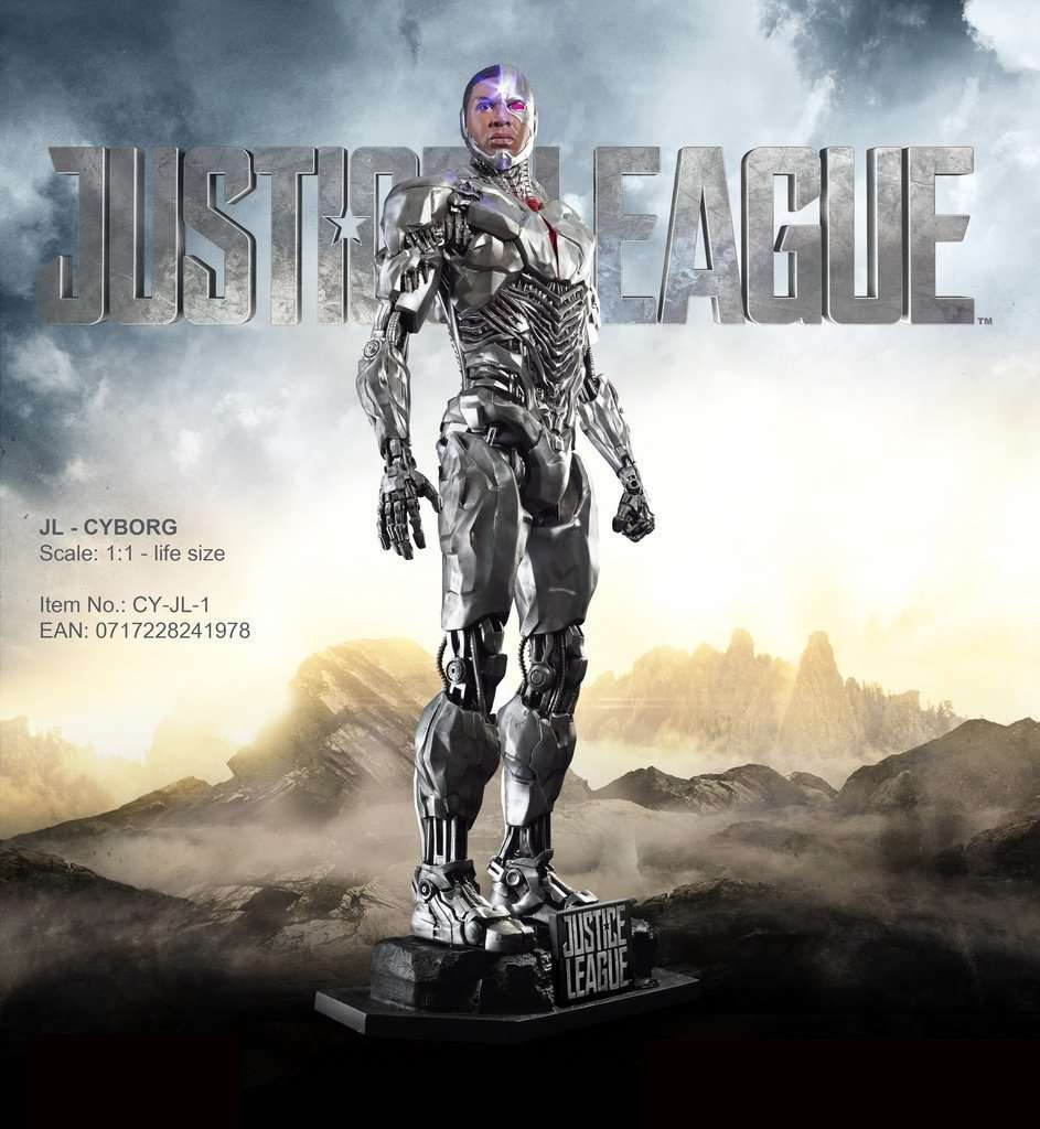 Cyborg From Justice League Life Size Statue
