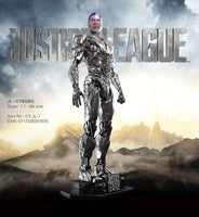 Cyborg From Justice League Life Size Statue - LM Treasures