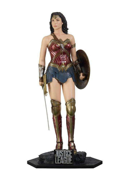 Wonder Women From Justice League Life Size Statue - LM Treasures Life Size Statues & Prop Rental