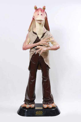 Star Wars Jar Jar Binks Life Size Statue - Pre Owned