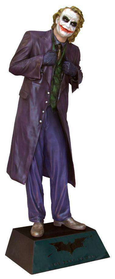 Joker Life Size Statue From Batman The Dark Knight