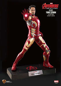 Iron Man Avengers: Age of Ultron Iron Man Tony Stark Life Size Statue - LM Treasures