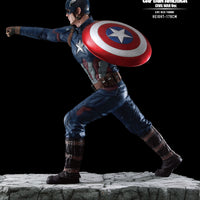 Captain America: Civil War Life Size Statue - LM Treasures Life Size Statues & Prop Rental