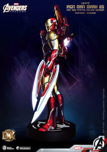 Avengers: Endgame Iron Man Mark 85 (Deluxe) Life Size Statue - LM Treasures Life Size Statues & Prop Rental