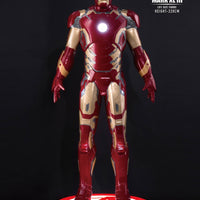 Iron Man Avengers: Age of Ultron - Iron Man Mark XLIII Life Size Statue - LM Treasures Life Size Statues & Prop Rental