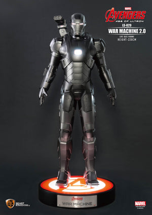 Avengers Age of Ultron War Machine 2.0 Life Size Statue - LM Treasures Life Size Statues & Prop Rental