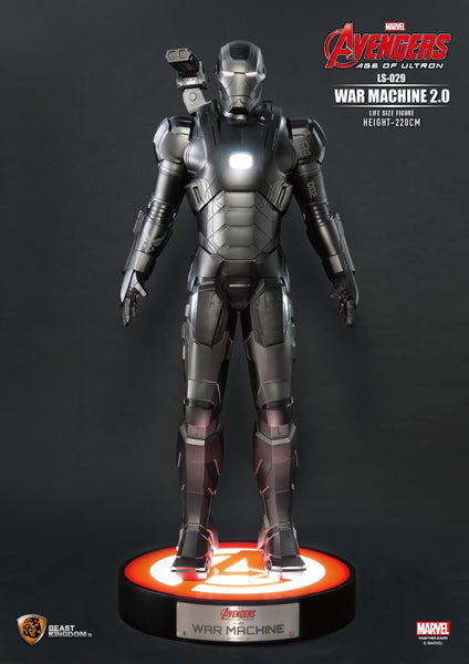 Iron Man Avengers Age of Ultron War Machine 2.0 Life Size Statue - LM Treasures