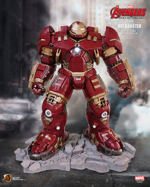 Iron Man Avengers: Age of Ultron Iron Man Mark XLIV Hulk Buster Life Size Statue - LM Treasures