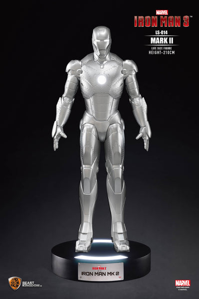 Iron Man 3 Mark II Life Size Statue - LM Treasures