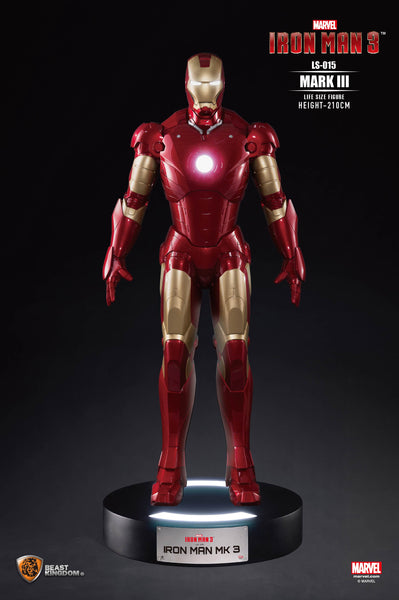 Iron Man Mark III Life Size Statue - LM Treasures