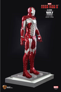 Iron Man Mark V Life Size Statue - LM Treasures