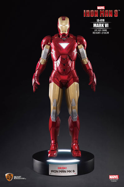 Iron Man Mark VII Life Size Statue - LM Treasures