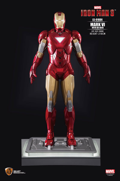 Iron Man Mark VI Life Size Statue - LM Treasures