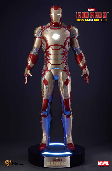 Iron Man MK42 Life-Size Statue - LM Treasures