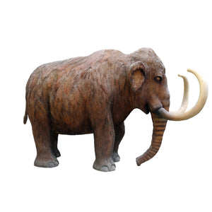 Mammoth Life Size Statue - LM Treasures Life Size Statues & Prop Rental