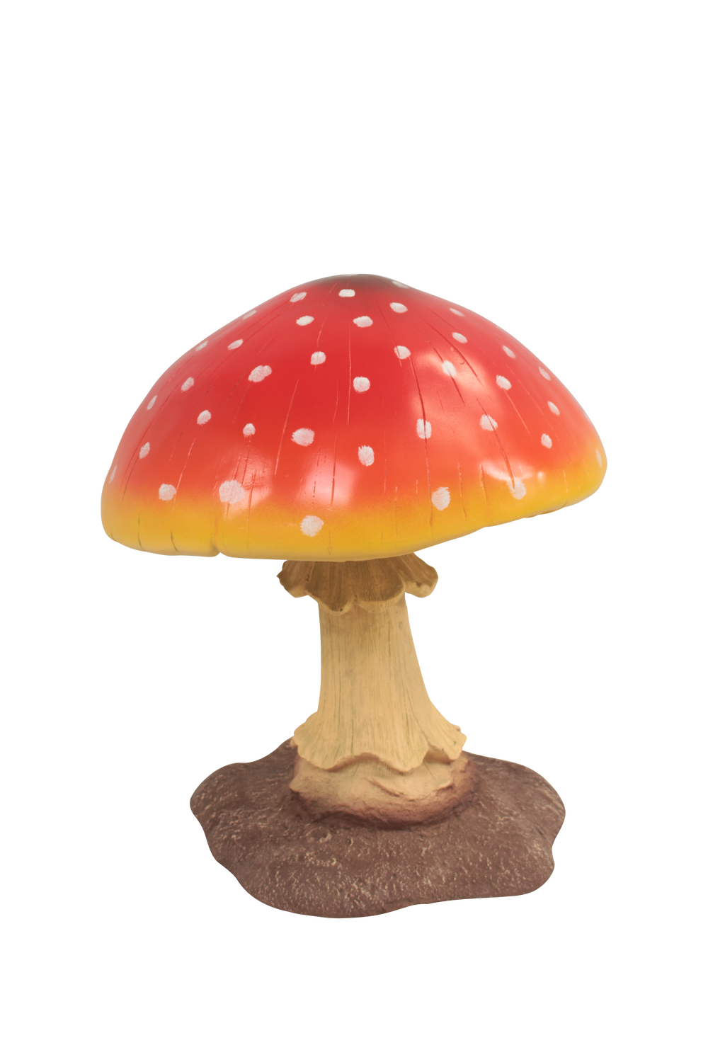Small Red Mushroom Over Sized Statue - LM Treasures Life Size Statues & Prop Rental