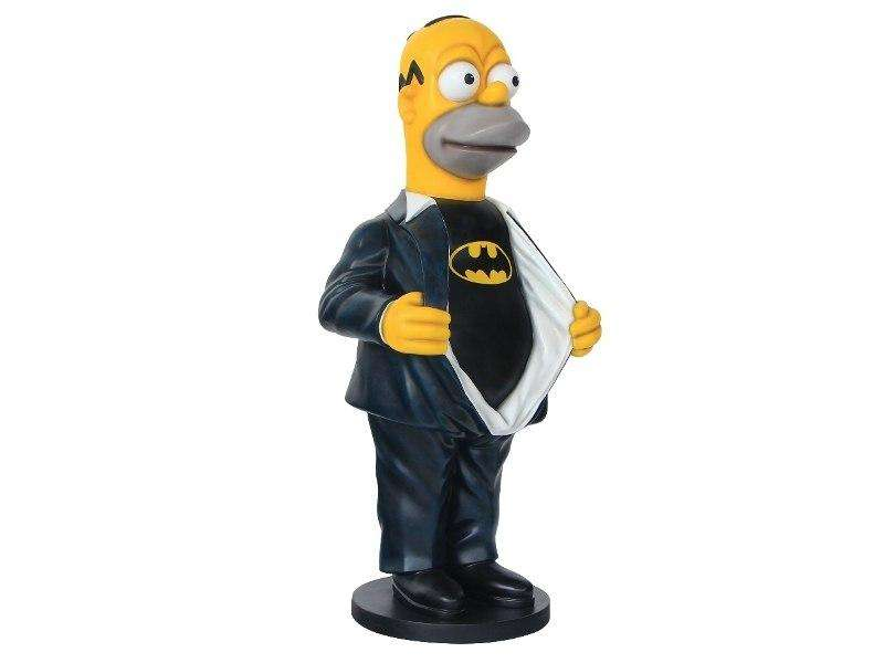 Cartoon Celebrity Yellow Man Homer Movie Hollywood Prop Decor Statue - LM Treasures
