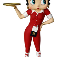 Betty Boop Waitress Small Statue - LM Treasures Life Size Statues & Prop Rental
