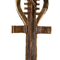 Egyptian Ankh Key Wall Décor Over Size Statue - LM Treasures Life Size Statues & Prop Rental