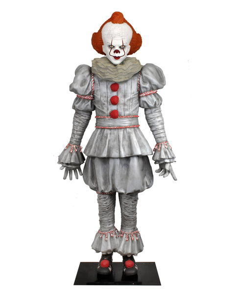 IT Pennywise Life Size Statue Foam Replica NECA - LM Treasures Life Size Statues & Prop Rental