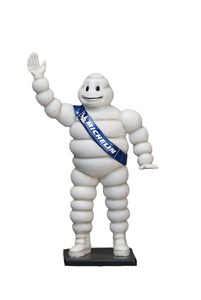 Tire Man Small Statue - LM Treasures
