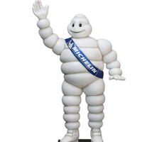 Tire Man Life Sizes Statue - LM Treasures