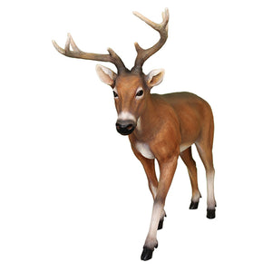 Deer Buck Young Animal Prop Life Size Decor Resin Statue - LM Treasures Life Size Statues & Prop Rental