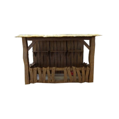Nativity Barn - LM Treasures Life Size Statues & Prop Rental