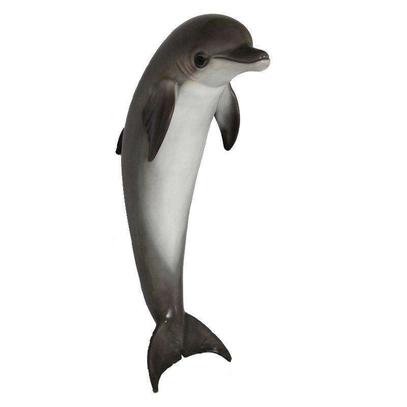 Hanging Dolphin Life Size Statue - LM Treasures Life Size Statues & Prop Rental