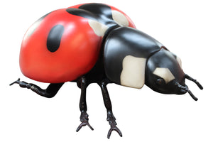 Lady Bug Insect Over Sized Statue - LM Treasures Life Size Statues & Prop Rental