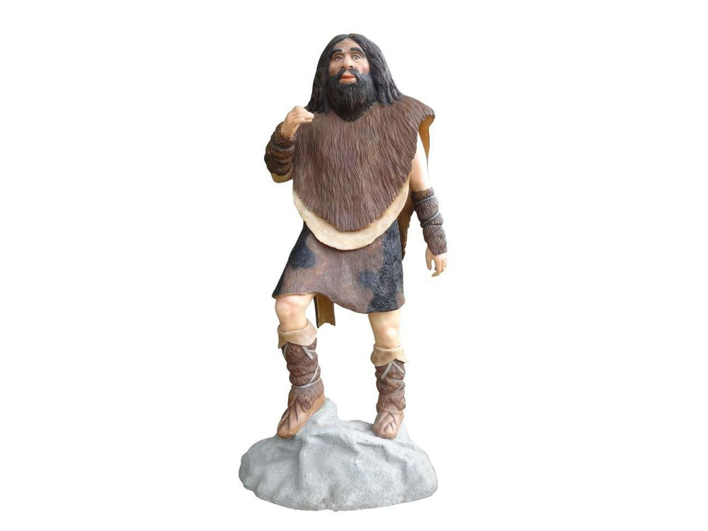 Cave Man Life Size Statue - LM Treasures Life Size Statues & Prop Rental