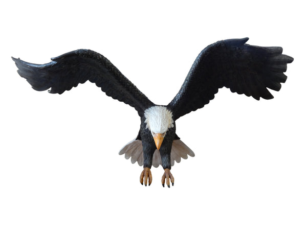 American Bald Eagle Attacking Life Size Statue - LM Treasures Life Size Statues & Prop Rental