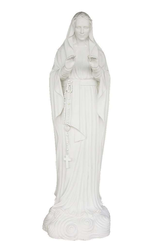 Monte Maria Virgin Mary Christmas Life Size Prop Resin Statue - LM Treasures Life Size Statues & Prop Rental